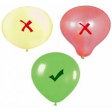 Jak správně nafoukat a uvázat latexové balónky