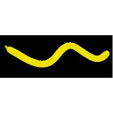 Balón modelovací Žltý 020
