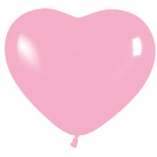 Balón srdce Ružové 009