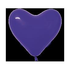 Balón srdce Fialové 351