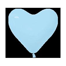 Balón srdce Modrá 12´´- 31cm