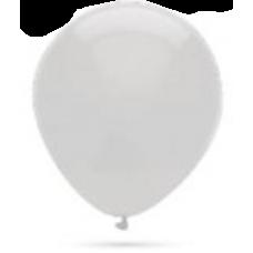 Balón metalický biela perla 32cm
