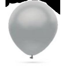 Balón metalický Strieborný s302 32cm