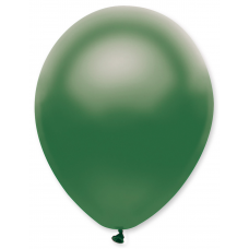 Balón 11´´ met. Zelená tm. S11 - 28 cm