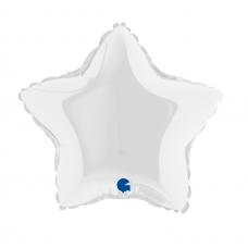 Balón 9´´ Hviezda biela 23 cm