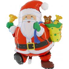 Balónek Santa Claus