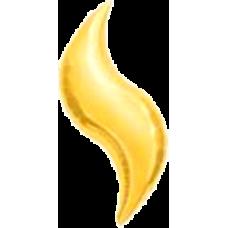 Balón List Zlatý 28