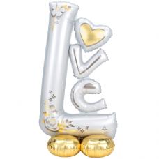 Balón stojaci Love