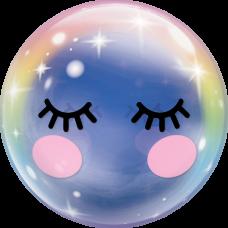 Balón Jednorožec Unicorn Eyelashes Q