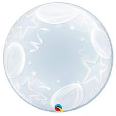 Balón Hviezdy a balóny bubbles