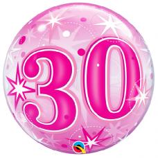 Balón 30. narodeniny bubbles