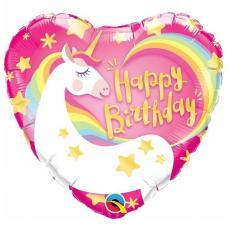 Balón Jednorožec Happy Birthday / Birthday Magical Unicorn