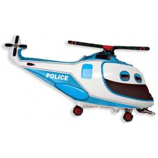 Balón Vrtuľník policajný