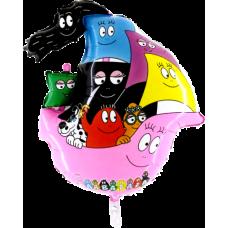 Balón Barbapapa rodina