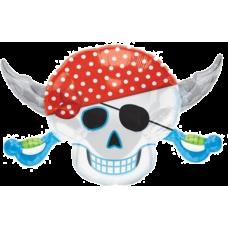 Balón Pirátska lebka US