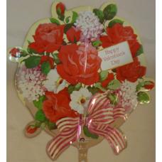Balón Valentínska kytica US