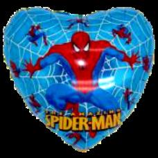 Balón Spiderman srdce m.