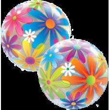 Balón Q Bubbles Fanciful Flower
