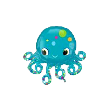 Balón Chobotnica US