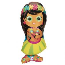 Balón Dievča Hula