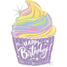 Narodeninový balón Muffin Happy Birthday
