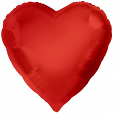 Balón Srdce Červené 71 cm