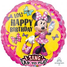 Balón spievajúci Minnie mouse