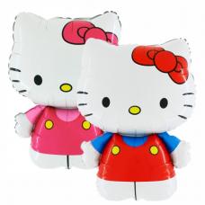 Balón Hello Kitty č. mašľa