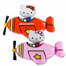 Balónik Hello Kitty v lietadle
