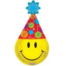 Balónik Smajlík s čiapkou