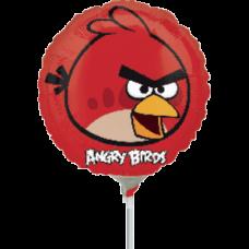 Balónik Angry Birds čer. kruh US