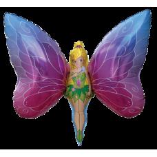 Balónik Motýľ Dievča