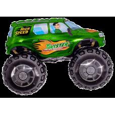 Balónik Monster truck zelený