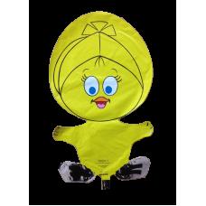 Balónik Kura žlté