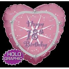 Balón Happy Birthday 18