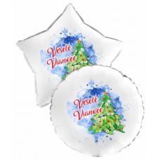 Balón Vianoce Stromček
