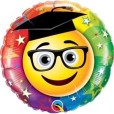 Balón Promócie / Smiley Graduate