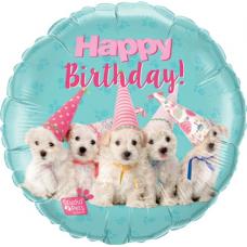 Balón Psíkovia Happy Birthday / BDay Puppies
