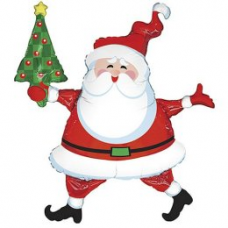 Balón Santa so stromčekom