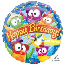 Balón Happy Birthday Sovičky