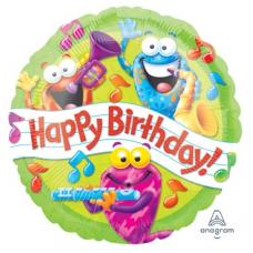 Balón Happy Birthday Žaby