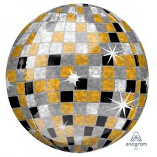 Balón disco guľa zlatá