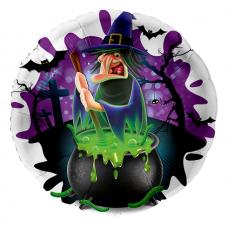 Balón Halloween Bosorka