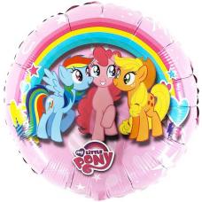 Balón My little pony - kruh