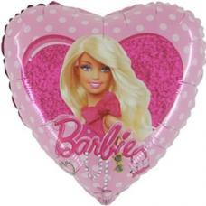 Balón Barbie s mašľou