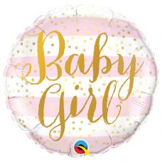 Balón Baby Girl / Je to dievča Q
