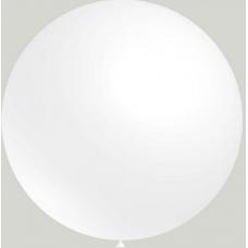 Balón Biely 020 - veľký 60cm - 2FT