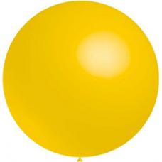 Balón  Žltý 023 - veľký 60cm - 2FT