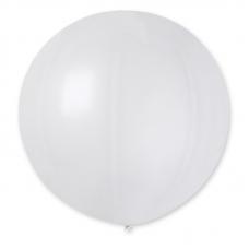 Balón veľký Gigant Biely 160 cm