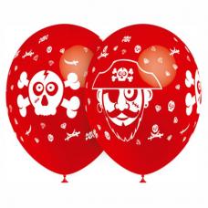 Balón Pirát červený